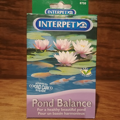 Pond Balance Pink Crystals go work fast to create a balanced pond giving you sparling clear water follow instructions. safe for fish and plants
